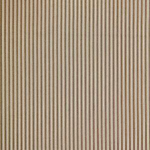 36395-006 KENT STRIPE Sepia Scalamandre Fabric