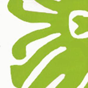 2470-06WP SIGOURNEY Jungle Green On White Quadrille Wallpaper