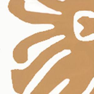 2470-12WP SIGOURNEY Camel II On White Quadrille Wallpaper