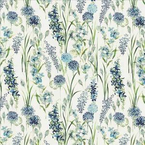 SPICE OF LIFE Blue Kasmir Fabric