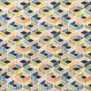 TESSERAE-50 TESSERAE Indigo Multi Kravet Fabric