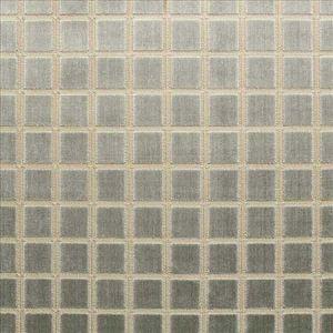 TRAFALGAR SQUARE Steel Kasmir Fabric