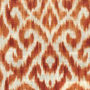 TUNGSTEN Persimmon Norbar Fabric
