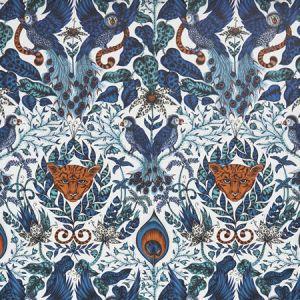 W0098/01 AMAZON Blue Clarke & Clarke Wallpaper