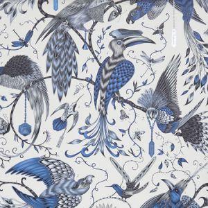 W0099/01 AUDUBON Blue Clarke & Clarke Wallpaper