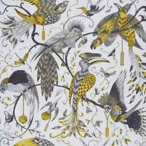 W0099/02 AUDUBON Gold Clarke & Clarke Wallpaper