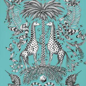 W0102/08 KRUGER Teal Clarke & Clarke Wallpaper