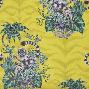 W0103/02 LEMUR Lime Clarke & Clarke Wallpaper