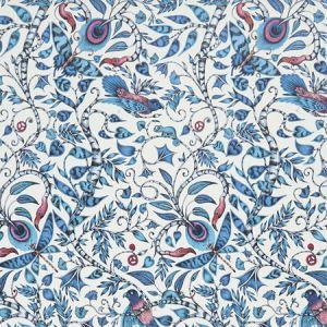 W0104/01 ROUSSEAU Blue Clarke & Clarke Wallpaper