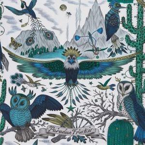 W0116/01-CAC FRONTIER Blue Clarke & Clarke Wallpaper