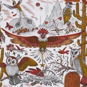 W0116/02-CAC FRONTIER Gold Clarke & Clarke Wallpaper