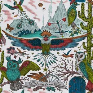 W0116/03-CAC FRONTIER Green Clarke & Clarke Wallpaper