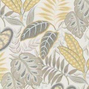 W3497-416 JASMINE Citrine Kravet Wallpaper