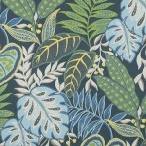 W3497-523 JASMINE Indigo Kravet Wallpaper