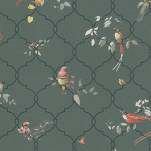 WBN 00012191 HAIKU Green Scalamandre Wallpaper