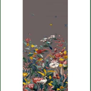 WBN 00029190 KOTORI MURAL Dark Grey Scalamandre Wallpaper