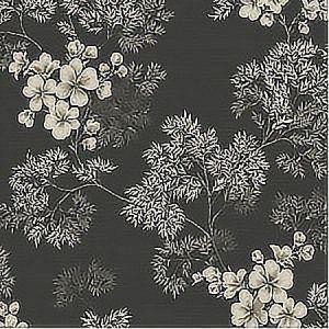 WBP10100 FLORA Charcoal Winfield Thybony Wallpaper