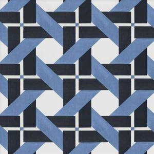WELL MATCHED Indigo Kasmir Fabric
