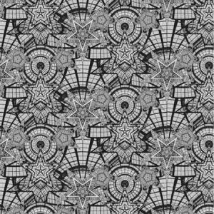 WH0 00023318 COUPOLE Argent Scalamandre Wallpaper