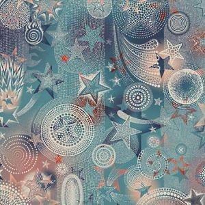 WH0 0002 3332 ETOILES Bleus Scalamandre Wallpaper