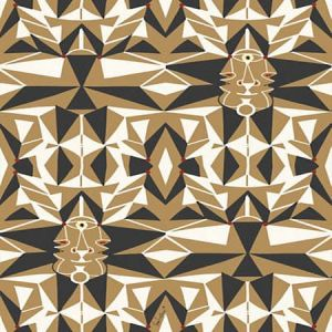 WH0 0002 6461 EMAIL Bronze Scalamandre Wallpaper