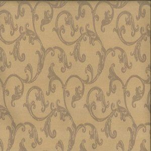WINETTE Gold Norbar Fabric