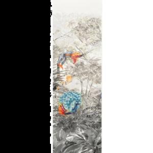 WNM 0001 ARCP2 ARCADIA MURAL PANEL 2 Multicolor Scalamandre Wallpaper