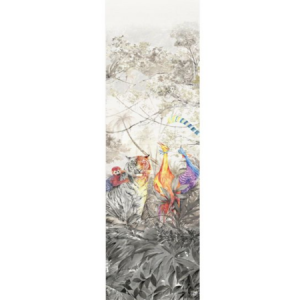 WNM 0001 ARCP3 ARCADIA MURAL PANEL 3 Multicolor Scalamandre Wallpaper