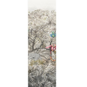 WNM 0001 ARCP8 ARCADIA MURAL PANEL 8 Multicolor Scalamandre Wallpaper