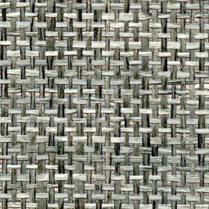 WNR1158 CHANNEL WEAVE Silver Lightning Winfield Thybony Wallpaper