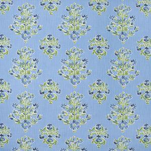 WRIST CORSAGE Cornflower Carole Fabric