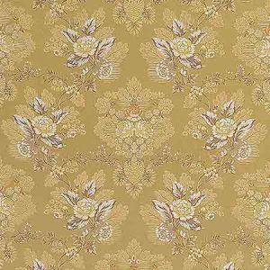 ZA 1773CARL CARLOS LAMPAS Antique Gold Old World Weavers Fabric