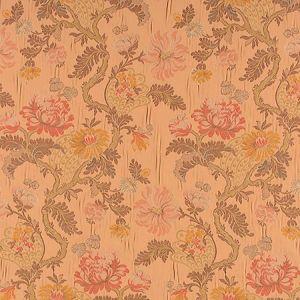 ZA 00536410 PALAZZO PAMPHILY LAMPAS Mocha Old World Weavers Fabric