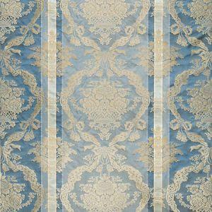 ZA 2193PTRS PETRARCA STRIPE Blue Bell Old World Weavers Fabric