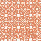 149-45WP NITIK II Orange On Almost White Quadrille Wallpaper