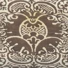 302207F VENETO Brown on Tint Quadrille Fabric