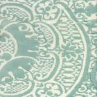 302209F VENETO Teal Quadrille Fabric