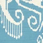 303037TLC NOMAD New French Blue on Tinted Cotton Linen Quadrille Fabric