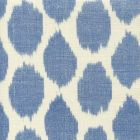 306106F ADRAS Royal Blue on Tint Quadrille Fabric