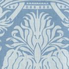 306173F CORINTHE DAMASK REVERSE Light Blue on Windsor Blue Quadrille Fabric