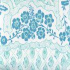 306430C-02CTN LEOPARDO II Aqua Light Aqua on Cotton Sateen Quadrille Fabric