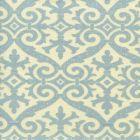306490-03 FRENCH DAMASK Soft Windsor Blue on Tint Quadrille Fabric