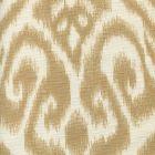 306570F-01 ISHIM IKAT Taupe on Tint Quadrille Fabric