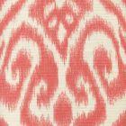 306570-04 ISHIM IKAT Melon on Tint Quadrille Fabric