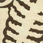AC101-32 FERNS UNI Brown on Tint Quadrille Fabric
