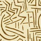 AC204-35 LASCAUX Camel II on Tint Quadrille Fabric