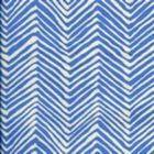 AC303-15 PETITE ZIG ZAG French Blue on Tint Quadrille Fabric