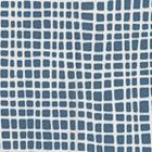AC403-19 CRISS CROSS Navy on Tint Quadrille Fabric