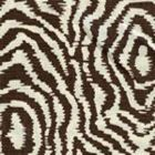 AC809-10 MELOIRE REVERSE New Brown on Tint Quadrille Fabric