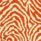 AC809-14 MELOIRE REVERSE Terracotta on Tint Quadrille Fabric